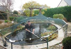 Nettoyage de bassin de jardin ext rieur tours en indre for Bassin vivier